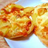熱々チーズと千葉県産じゃがいもの明太ポテトピザ