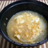 玉ねぎと卵の味噌汁