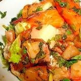 野菜たっぷり海鮮サラダ