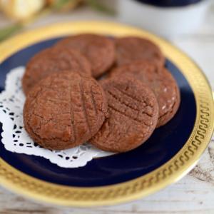 ココアパウダーで簡単サクサク♪☆ガレットクッキー