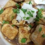 フライパンひとつで、簡単揚げ出し豆腐☆おろしのせ