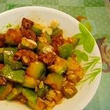 カボチャと豚肉の醤油煮
