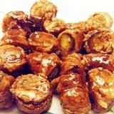 茄子の肉巻き✿甘辛味噌焼き