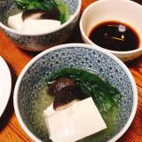 やさしい味の湯豆腐