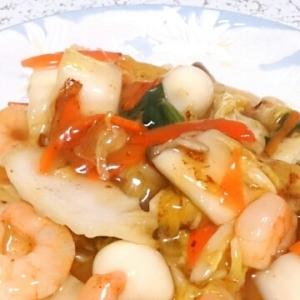 八宝菜(中華丼)