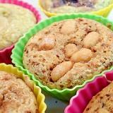 ハニーローストピーナツとメープルの珈琲カップケーキ