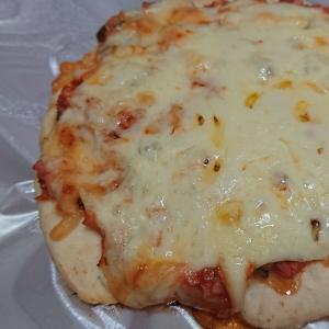 みじん切り野菜でピザ☆子供に野菜を食べさせたい