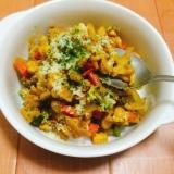 煮込まず簡単☆野菜たっぷりドライカレー