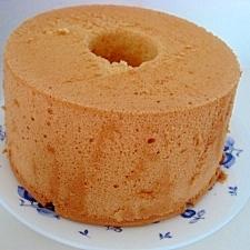シンプル★バニラシフォンケーキ♪