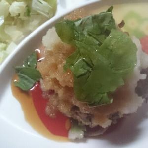 山芋とれんこんハンバーグ