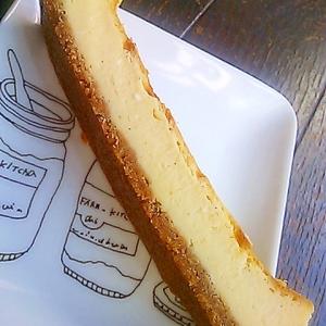 簡単濃厚チーズケーキバー