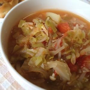 食べすぎたら作る!『野菜スープ』