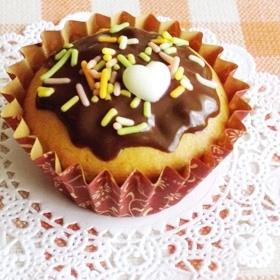 甘さ控えめカップケーキ