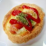 【お手伝いレシピ】ホットケーキミックスで惣菜パン風