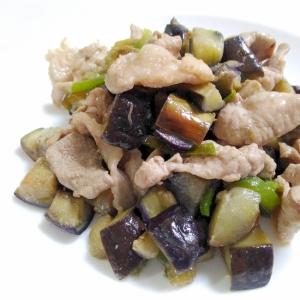 ウェイパーで☆豚肉となすの中華炒め