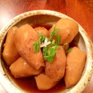 【里芋の煮物】ほっこり醤油味♪