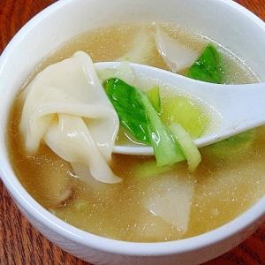 牛骨スープの作り方&「ワンタンスープ」