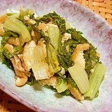 山東菜のくたくた煮