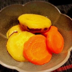 *簡単* サツマイモのメープルレモン煮