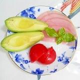 甘いトマトのミニサラダ