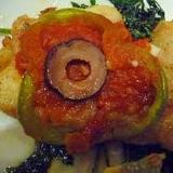 あっさり鱈のボリュームソテーwith トマトソース
