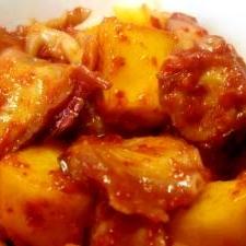 柿を愛したタコキムチ ( *´艸`)♪