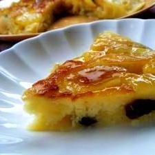 りんごの季節★りんごのキャラメルパンケーキ