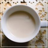 ほっこり優しい味♡豆乳ほうじ茶ラテ