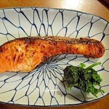 旨みがぎゅっ! 自家製塩麹で生鮭がぐぅ~んと美味に