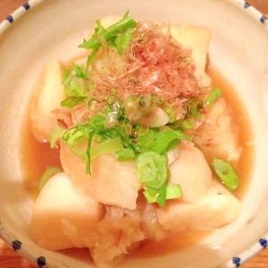 長芋のほっくり煮 圧力鍋レシピ