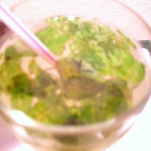 【簡単・カフェ気分】ミントレモンソーダ