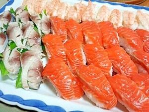 お祝いに!おもてなしに!おうちでにぎり寿司