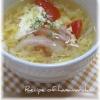 卵+スープ