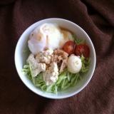 温玉豆腐のツナサラダ