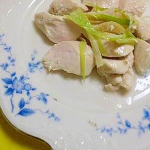 ササミで蒸し鶏!春先ダイエット