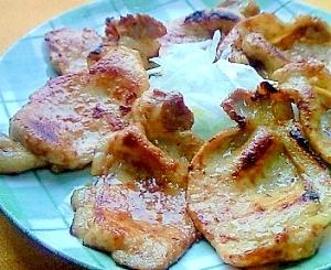 豚肉の塩麹蜂蜜マスタードソテー