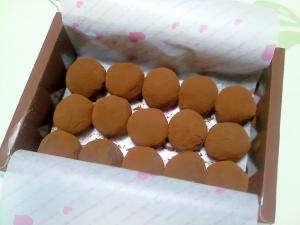 生チョコトリュフ++