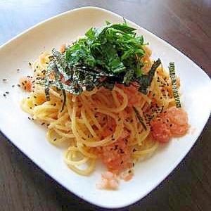 絶品♪和えるだけ~♪明太子スパゲティ