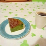 超簡単!『抹茶のガトーショコラ』
