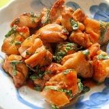 鶏もも肉と大葉の甘辛照り焼き