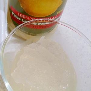 【糖質制限】超簡単レモンソルベ(かき氷)
