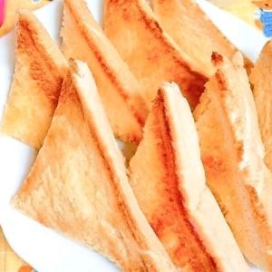 朝食に☆コク旨レトルトカレーとトースト