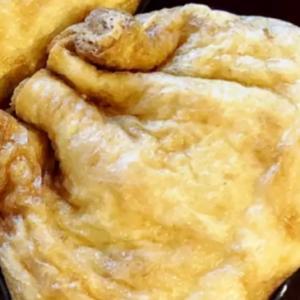 きんぴらチーズの巾着煮