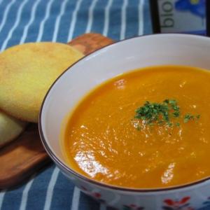オイル無し☆バターナッツで濃厚かぼちゃスープ