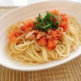 さっぱり美味しい‼トマトの冷製パスタ