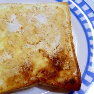 ☆クリームチーズときなこのシュガートースト☆