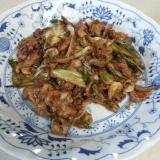 豚肉とキャベツのマヨ味噌炒め