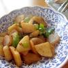 大根ピーマン蒟蒻唐辛子炒め煮
