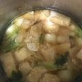 小かぶと油揚げの味噌汁