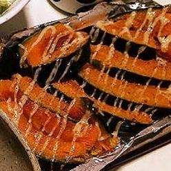 火を使わず簡単一品!かぼちゃのトースター焼き!